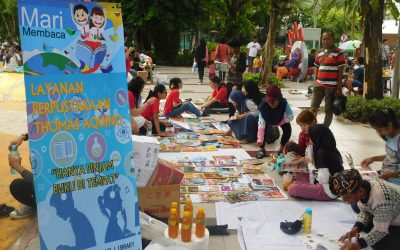 Layanan Perpustakaan Keliling Thomas Aquino Library
